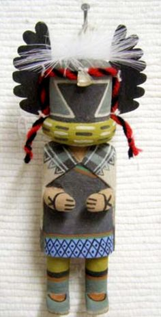 Hopi Carved 7 Crow Mother Old Style Kachina Doll by Augustine MOWA Jr | eBay
