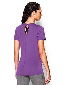 Under Armour Women's UA HeatGear® CoolSwitch Short Sleeve Extra Small MEGA MAGENTA   AMAZON.COM saved by #ShoppingIS