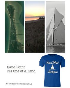 Sand Point Michigan juts out into Saginaw Bay 5 miles. Here is an awesome T not found anywhere.