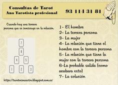 practicando tiradas de tarot: TIRADA 55