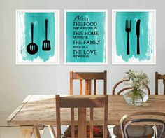 The Secret To Beautiful Kitchen Wall Art   Ribbons and Stars Home Decor and Remodelling Blog
