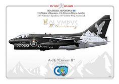 LTV A-7E Corsair II 336 Sqn