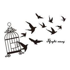 imagenes de aves saliendo de una jaula - Buscar con Google