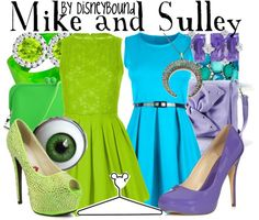 """""""Mike and Sulley"""" by lalakay on Polyvore"""