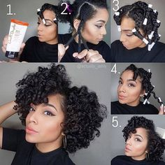 Amazing!!She definitely gives a new life to her natural hair. ❤Natural hair is so versatile!❤