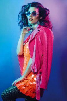 Marina and The Diamonds shot by Simon Harris for Notion magazine