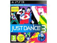 Just Dance 3 PS3 Move : Le plus culte des jeux de danse est de retour ! Just Dance 3, c'est plus de hits, plus de chorégraphies et plus de défis !