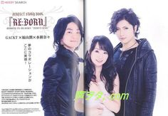 Fukuyama Jun, Mizuki Nana, Gackt... Is it wrong that I can't decide who has the prettiest face?