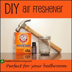 Air fresheners are loaded with toxic chemicals that are proven to be harmful to your health.  Try making your own DIY air freshener