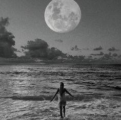 moon gazing..