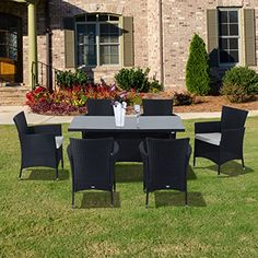 buy outsunny outdoor garden rattan furniture cube dining set black from our rattan garden furniture range at tesco direct