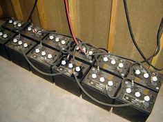 How to set up Off the Grid or Emergency Battery Banks