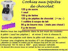 Recette facile de cookies aux pépites de chocolat