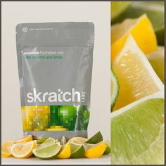 Skratch Labs Exercise Drink Mix is available in raspberry or lemon & lime (an employee favorite!).