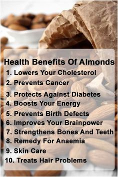 10 Amazing Health Benefits Of Almonds: The National Cancer Institute freshly released a study involving high-fiber diets that lower risk of colon cancer. It's also an excellent reserve of vitamin E, Phytochemicals, and flavonoids which controls the progress of breast cancer cells. Beef, Health Tips, Meat, Ox, Steaks, Healthy Lifestyle Tips, Steak