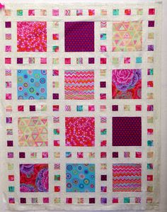 Canton Village Quilt Works | Wind It Up Wednesday Slide Show pattern Atkinson Designs and Kaffe fabric