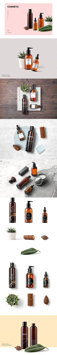 Cosmetic Mockup is the world's most comprehensive and high quality cosmetic products and elements mockup pack. Tons of different packages and awesome items. via @creativetacos
