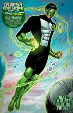 Kyle Rayner of Earth, welcome to the Green Lantern Corps.