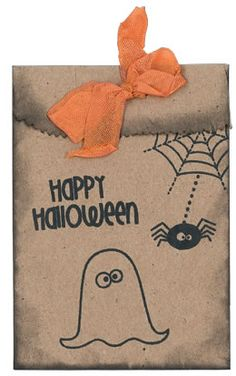 Trick or Treat Bags from our Fall 2013 issue