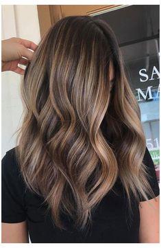 Brown Hair Balayage, Brown Blonde Hair, Hair Color Balayage, Light Brown Hair, Brunette Hair, Beige Blonde, Black Hair, Balayage Hairstyle, Neutral Blonde