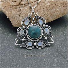 Beautiful wire pendant - кулон http://severi.livejournal.com/351253.html