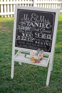 16 IKEA Wedding Hacks for the Prettiest and Most Affordable Signage | Brit   Co