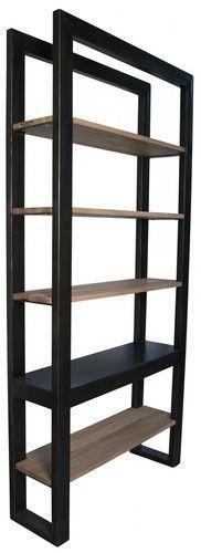 Noir Winston Bookcase