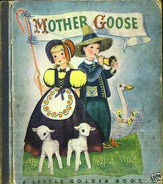 Little Golden Book: Mother Goose