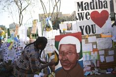 PHOTOS: People gather to support former South African president Nelson Mandela Metro.us