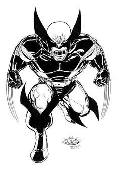 Wolverine commission by John Byrne. 2012.