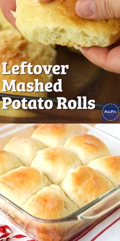 Leftover Mashed Potato Rolls are a sweet and delicious way to use up any flavor of leftover mashed potatoes. Our favorite way to use up leftovers! recipes no yeast videos Leftover Mashed Potato Rolls Biscuit Bread, Biscuit Recipe, Mashed Potato Rolls Recipe, Bread Machine Potato Bread Recipe, Cheddar Cheese Biscuits Recipe, Sweet Potato Rolls, Bread Recipe Video, Mashed Potato Cakes, Health Foods
