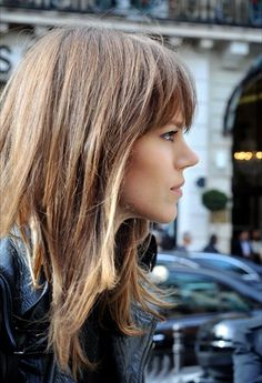 Amaze fringe and bronde hair