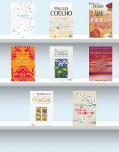 Sélection de 8 livres inspirants pour accompagner un changement de vie ou pour positiver et relativiser - Paulo Coelho - Miguel Ruiz - Frédéric Lenoir - Baptist De Pape Développement personnel et philosophie