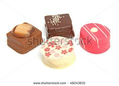 Cake Fours Petite Small Stock Photos, Images, & Pictures ...