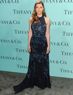 Jessica Biel - increíble vestido Elie Saab