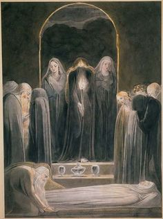 New Testament - The Entombment (1805) by William Blake
