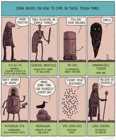 Tom Gauld - Rysunek dla brytyjskiej gazety The Guardian ▪ Cartoon for British newspaper The Guardian.