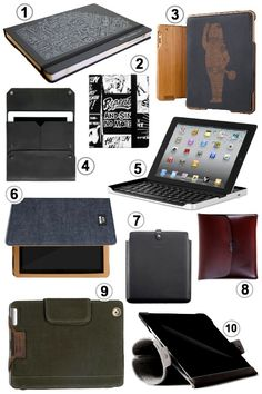 10 Ultra Manly iPad + Tablet Cases