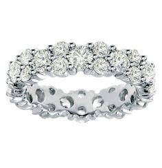 18k White Gold Prong Set 3-Row All Around Diamond Eternity Wedding Band VIP Jewelry Art, http://www.amazon.com/dp/B005NXKRF2/ref=cm_sw_r_pi_dp_PCUmrb1Z6PR9Z