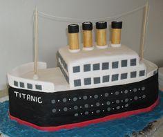 titanic cake i love!