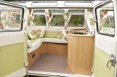 1964 Volkswagen Camper 21 Window Samba Interior 1