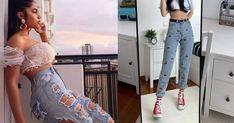 10 cenas deliciosas que te ayudarán a no engordar Poses, Mom Jeans, Capri Pants, Hair Beauty, My Style, Sexy, Beautiful, Fashion, Plaid Coat
