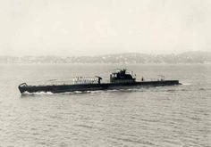 RUBIS Sous marin mouilleur de mines construit à TOULON mis en service le 4 avril 1933. Retiré du service actif le 4 octobre 1949.