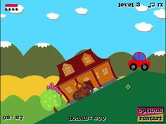 Tank in action game. Play game at http://www.y7games.info/tank-in-action.html. Every riding game needs something to distinguish...why not a tank? Each level is designed for use of the tank to run over obstacles, or maybe blast them out of the way. Keep in mind some levels require a bullet shot to make bridges appear. Water will damage the tank, as well as too much damage to the structure. Can you make it to the flag in as short amount of time as possible?