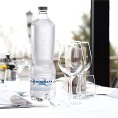 """The design of the new Norda Exclusive range is an expression of the product's premium market positioning, reflecting the Group's focus on innovation that has become the driving force behind its growth. This Group is committed to redesigning the mineral water industry through the concept """"Drink consciously""""."""