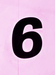 6 on pink...