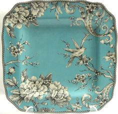 222 Fifth Adelaide Turquoise Dinner Plate, Set of 4, Square, http://www.amazon.com/dp/B00BWF6ALU/ref=cm_sw_r_pi_awdm_x_0kNXxbYH05HQ1