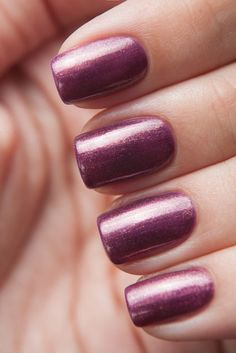 Mauve  | See more nail designs at http://www.nailsss.com/acrylic-nails-ideas/3/