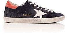GOLDEN GOOSE Men's Superstar Suede Sneakers. #goldengoose #shoes #
