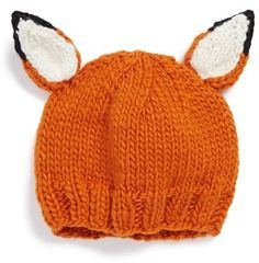 BLUEBERRY HILL The Blueberry Hill 'Rusty Fox' Knit Hat (Baby)